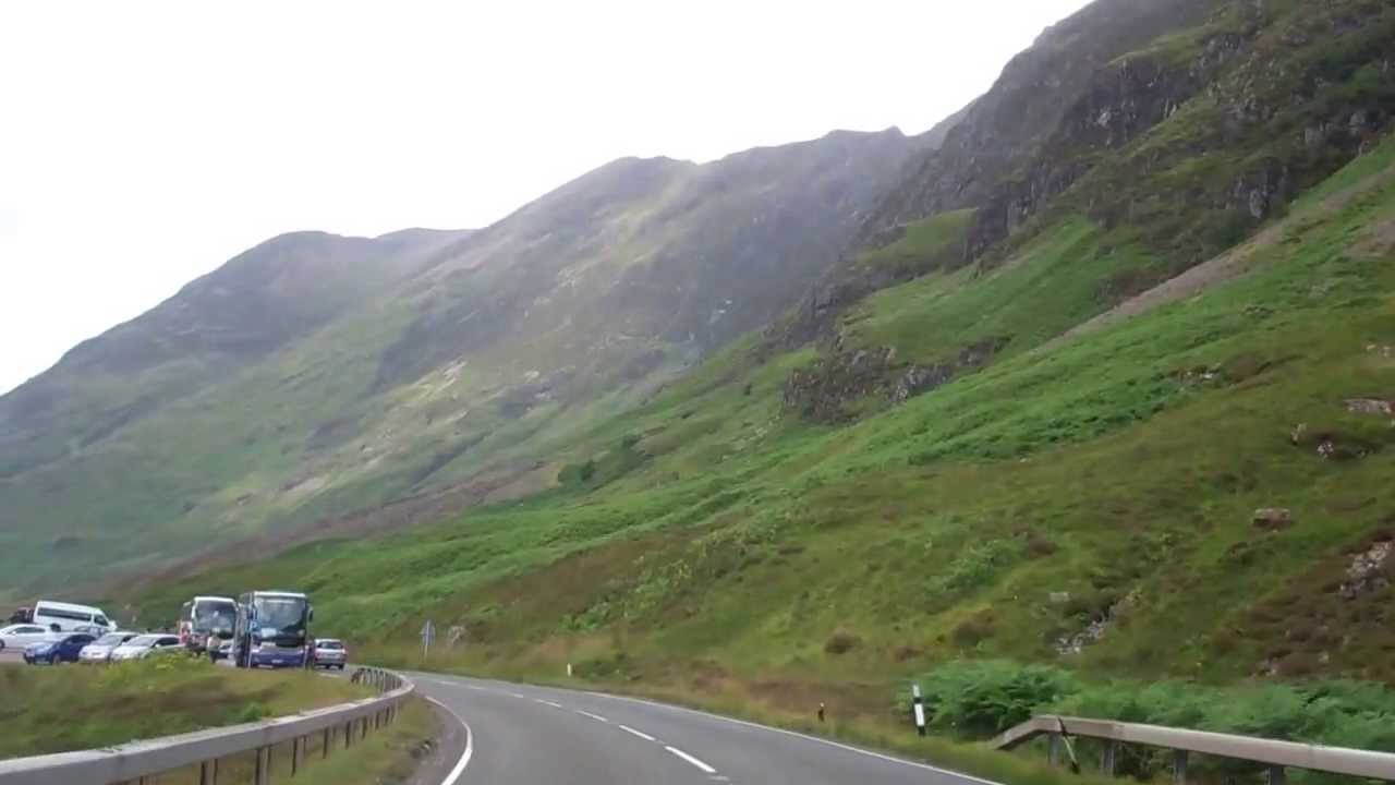 Driving Tour Of Scottish Highlands