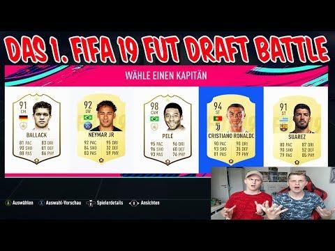 Wer baut das bessere C. RONALDO Fut Draft in FIFA 19 vs. kleinen BRUDER! - Ultimate Team Deutsch