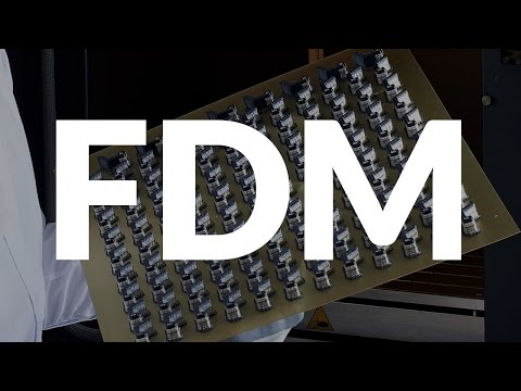 What is FDM 3D printing technology?