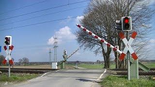 Spoorwegovergang Mehrhoog (D) // Railroad crossing // Bahnübergang