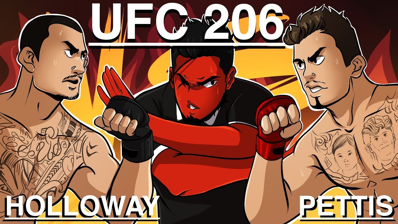 Ufc 206 Max Holloway Vs Anthony Pettis Main Card Fights Youtube