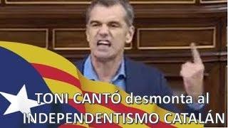 ¡BESTIAL! Toni Cantó DESMONTA al INDEPENDENTISMO CATALÁN ...