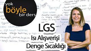 LGS - Fen Bilgisi - Isı Alışverişi / Denge Sıcaklığı