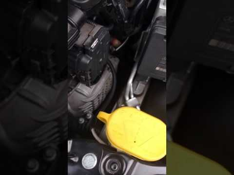 M271 Engine start after oil change