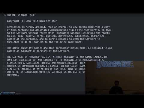 2019-02-27: Emacs As A Python IDE - Sean Farley