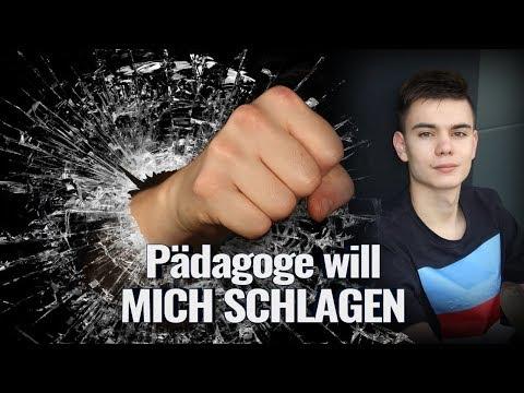 Pädagoge will MICH SCHLAGEN