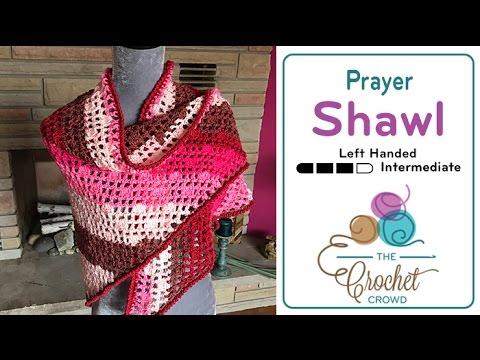 How to Crochet A Prayer Shawl: Caron Cakes