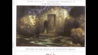 Sergei Rachmaninoff: The Isle Of The Dead, piano duet arr. O.Taubmann (1910)