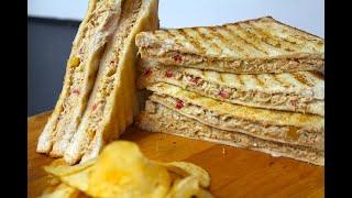 Chicken Sandwich Recipe   Club Sandwich   Urdu / hindi Recipes By COOK WITH FAIZA