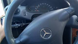 тест драйв Mercedes-Benz A-170 автомат 2001г