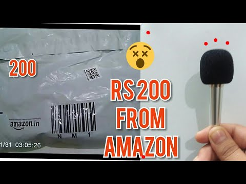 Unboxing world Smallest microphone from Amazon
