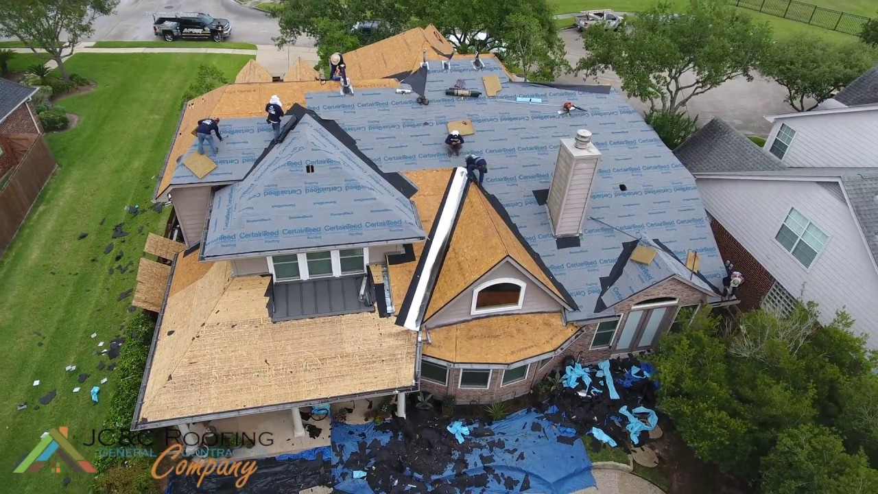Jc Amp C Roofing Company Roofing Process Installation Start
