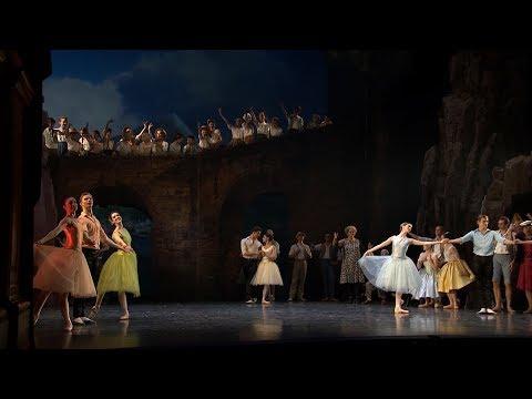 Napoli act 3 pas de six and tarantella - Royal Danish Ballet