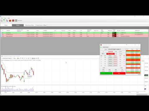 Live Super Trend Strategy Algo Trading in Ninja Trader