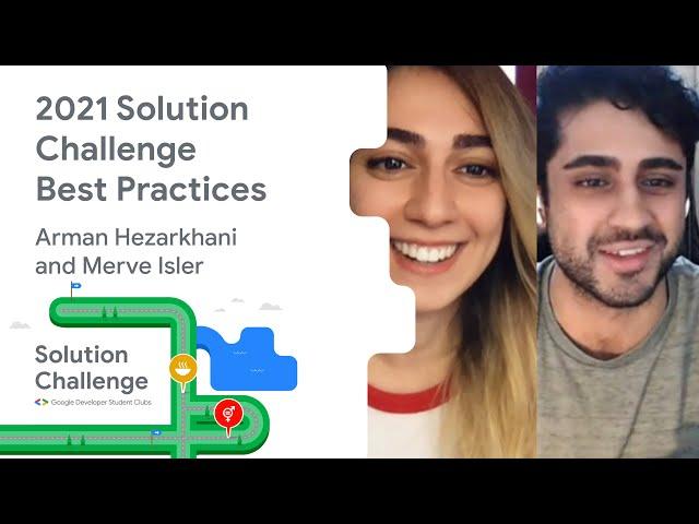 2021 Solution Challenge: Best practices