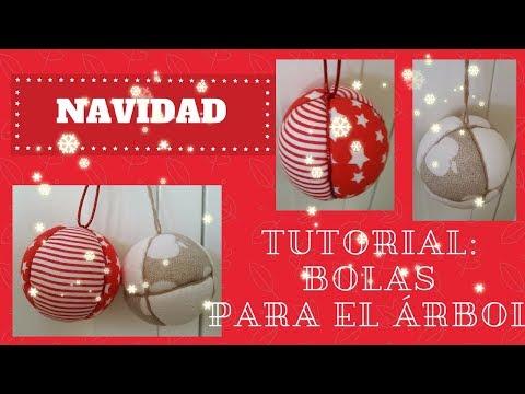 Tutorial: Bolas de patchwork para el árbol de Navidad