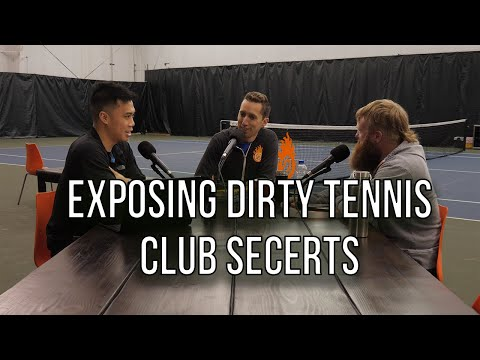 What (dirty) secrets tennis clubs DON'T Want You to Know | Shankcast Tennis Podcast Ep. 28