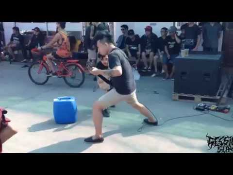 Session Slay - Cheyne stokes  [Cover Chelsea Grin]  Live Water Attack 2015