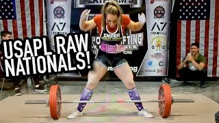 MY NEW RAW TOTAL - MEGSQUATS USAPL RAW NATIONALS