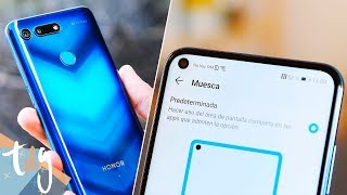 ADIÓS al NOTCH! Honor View 20 review