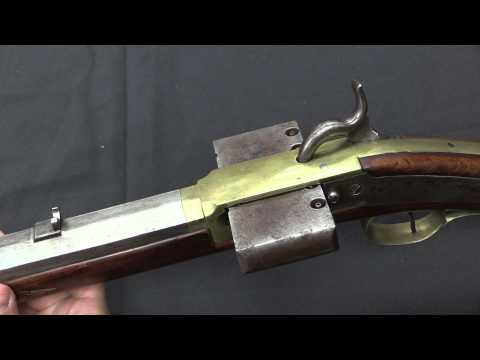 J.M. Browning Harmonica Rifle