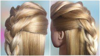 Прическа с плетением косы ИРОКЕЗ Quick Hairstyle