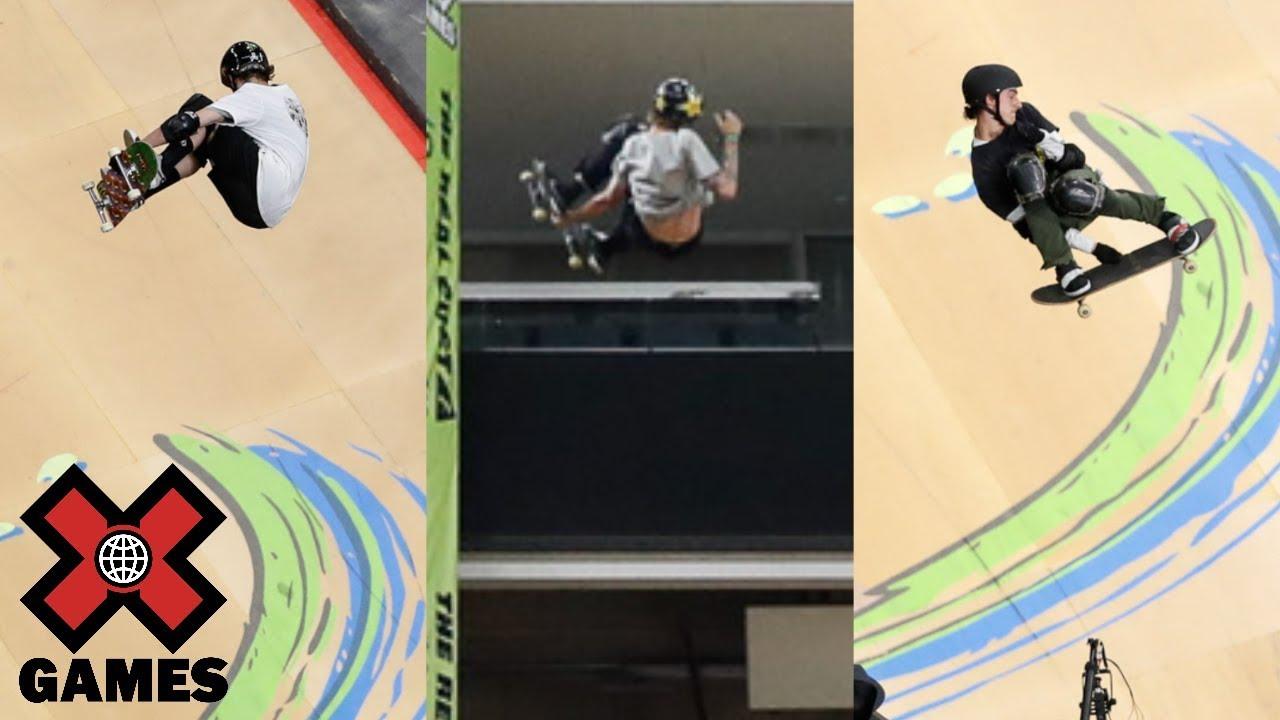Top 3 Skateboard Big Air runs from Minneapolis 2018 | X Games | ESPN