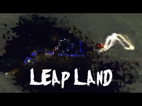 Meeting Santa and Mrs Claus in Leap Land