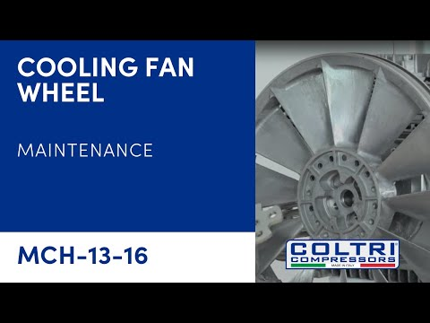 DISASSEMBLY COOLING FAN WHEEL
