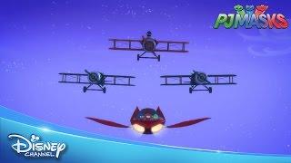 Pijamaskeliler - Uçak Yarışı