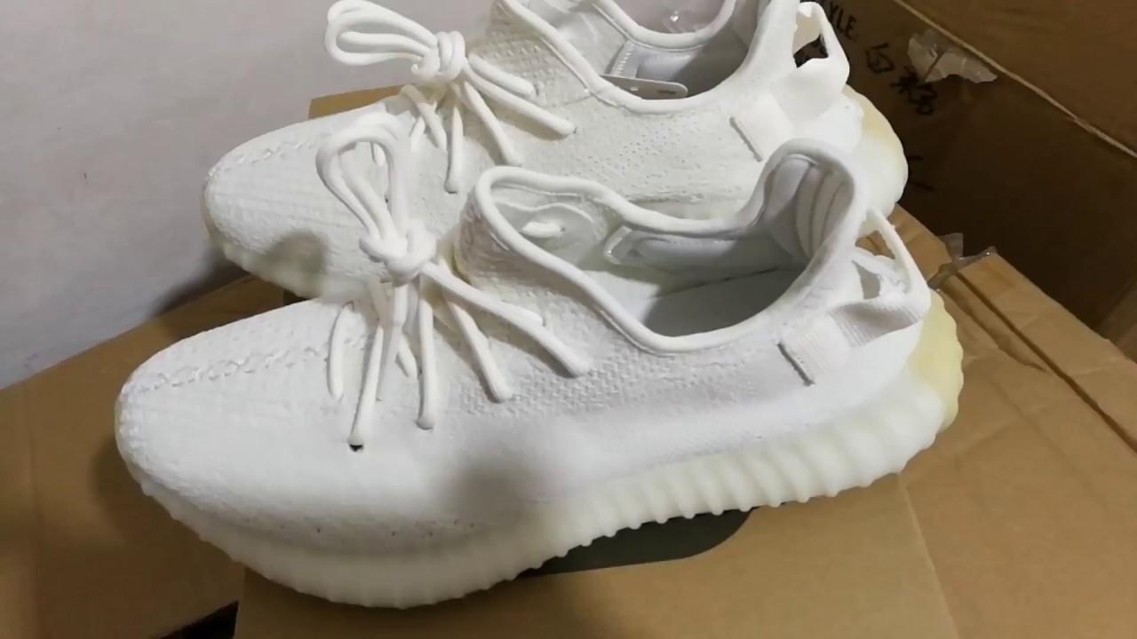 edd196e3d Adidas Yeezy 350 V2 Boost Kanye West Cream White fr China market. Lin Eric