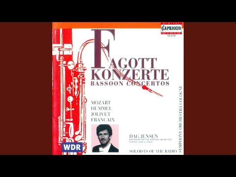 Bassoon Concerto in B-Flat Major, K. 191: I. Allegro