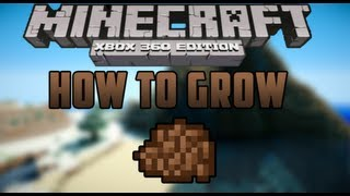 How To Grow Cocoa Beans! - Minecraft (Xbox 360)