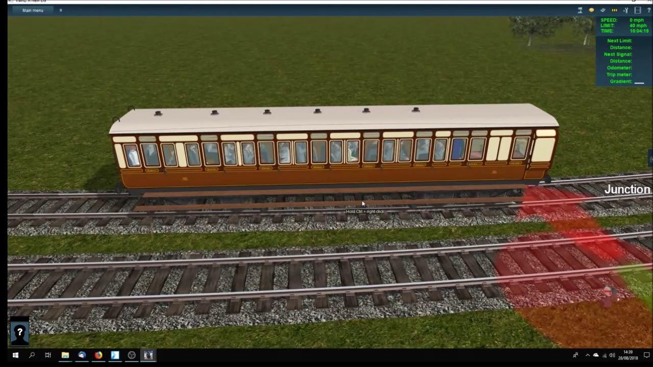 TANE GWR SG D3 K4 E19 and E27 carriages