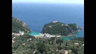 Греция, о. Корфу. (Greece). Красивейшие места мира.(Греция, о. Корфу, очень красивые места, сказочная природа, просто рай. Greece, beatutiful place. О. Корфу - один из самых..., 2016-03-10T06:42:33.000Z)