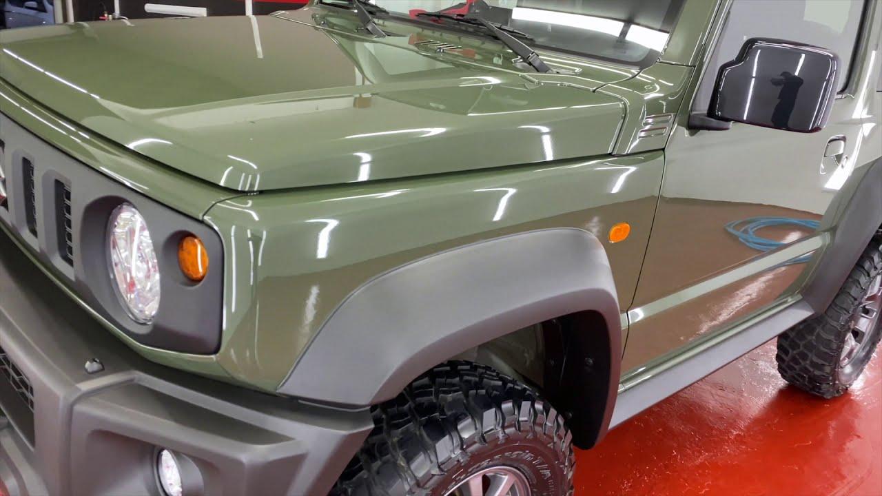 jimny 2020 tough dog 80mm lift heavy duty kit (offroad) vol1