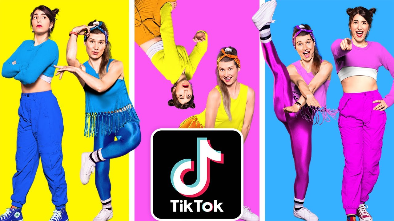 TANTANGAN JOGET || Cara Jadi Populer! Kompilasi Dance TikTok | Joget Trending oleh 123 GO! CHALLENGE