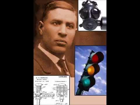 Garrett A Morgan Sr Traffic Signal Gas Mask Youtube