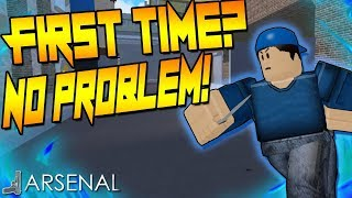 PLAYING ARSENAL FOR THE FIRST TIME!? | ROBLOX | ARSENAL |