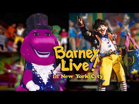 Barney Live! In New York City (1994) [VHS] - Full In HD