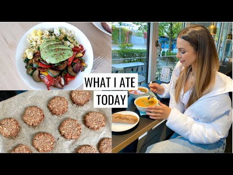 WHAT I ATE TODAY & Baking Healthy Cookies   Annie Jaffrey