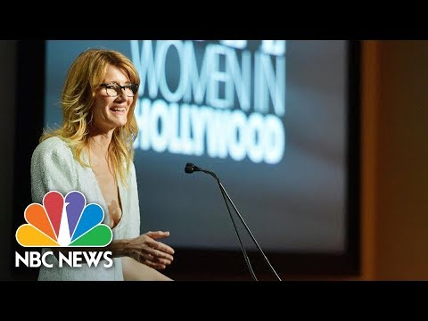 Thumbnail: Laura Dern Praises 'Extraordinary Bravery' Of Women Speaking Out On Sexual Assault | NBC News