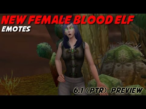 WoW - Female Blood Elf Barber Options from YouTube · Duration:  4 minutes 57 seconds