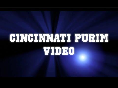Cincinnati Purim Video 2018