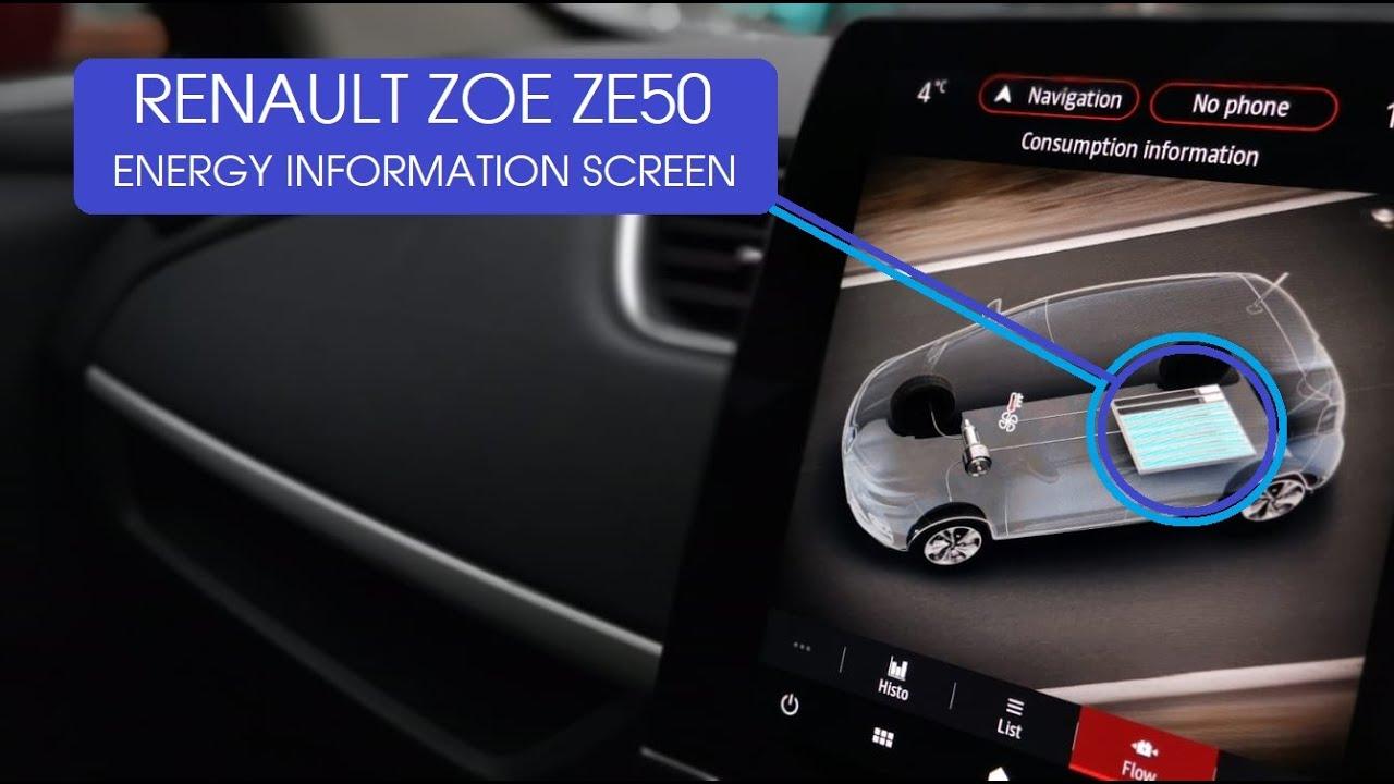 New ZOE ZE50 Energy Screen