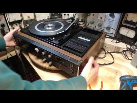 Sanyo GXT4505K Combo Video #2 - Record Player