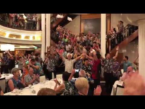 """Voyager of the Seas Dining Room """"Showtime"""""""