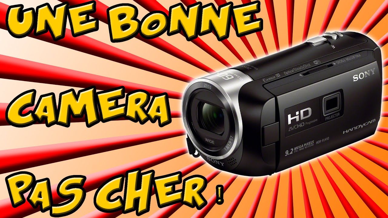 une bonne camera pas cher unboxing sony hdr pj410 youtube. Black Bedroom Furniture Sets. Home Design Ideas