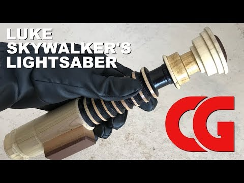 How to Make a Lightsaber from Firewood