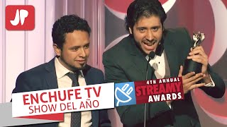 EnchufeTV Gana ''Premios Oscar'' del Internet | Streamy Awards - mejor show del 2014